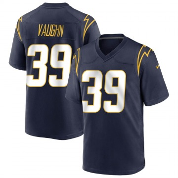 Men's Donte Vaughn Los Angeles Chargers Nike Game Team Color Jersey - Navy
