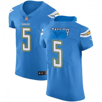 Men's Tyrod Taylor Los Angeles Chargers Nike Elite Alternate Vapor Untouchable Jersey - Blue