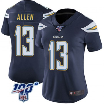 Women's Keenan Allen Los Angeles Chargers Nike Limited 100th Vapor Jersey - Navy