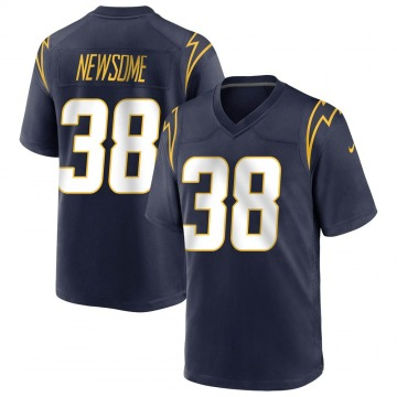 Youth Detrez Newsome Los Angeles Chargers Nike Game Team Color Jersey - Navy