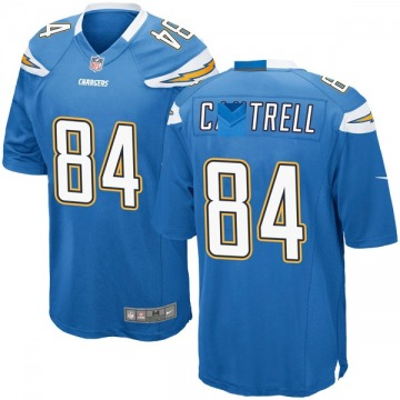 Youth Dylan Cantrell Los Angeles Chargers Nike Game Powder Alternate Jersey - Blue