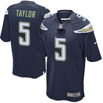Youth Tyrod Taylor Los Angeles Chargers Nike Game Team Color Jersey - Navy